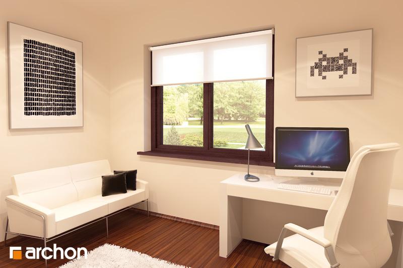 Проект будинку ARCHON+ Будинок в калатеях 2 (П) нічна зона (візуалізація 1 від 4)