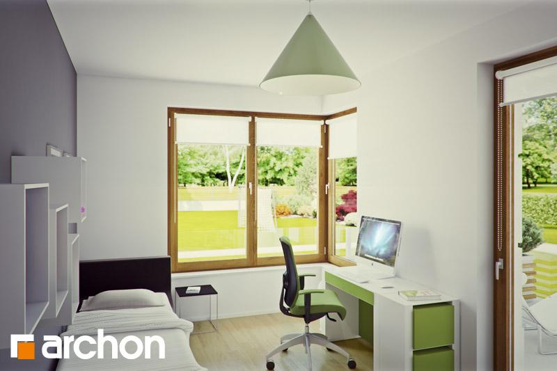 Проект будинку ARCHON+ Вілла Вероніка 3 нічна зона (візуалізація 1 від 2)