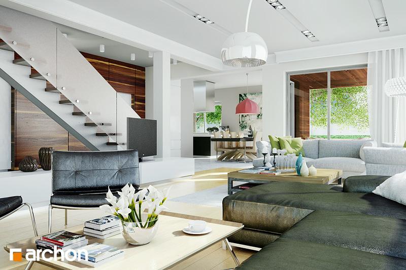 Проект будинку ARCHON+ Вілла Вероніка 3 денна зона (візуалізація 1 від 1)