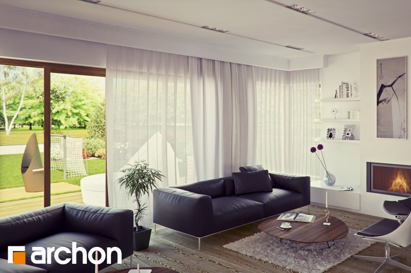 Проект будинку ARCHON+ Вілла Вероніка 3 денна зона (візуалізація 2 від 1)