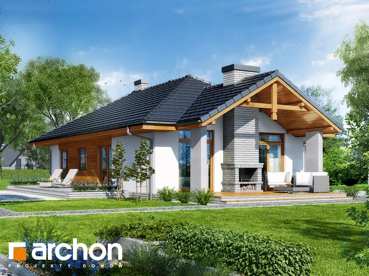 Проект будинку ARCHON+ Будинок в салсефіях Вид 2