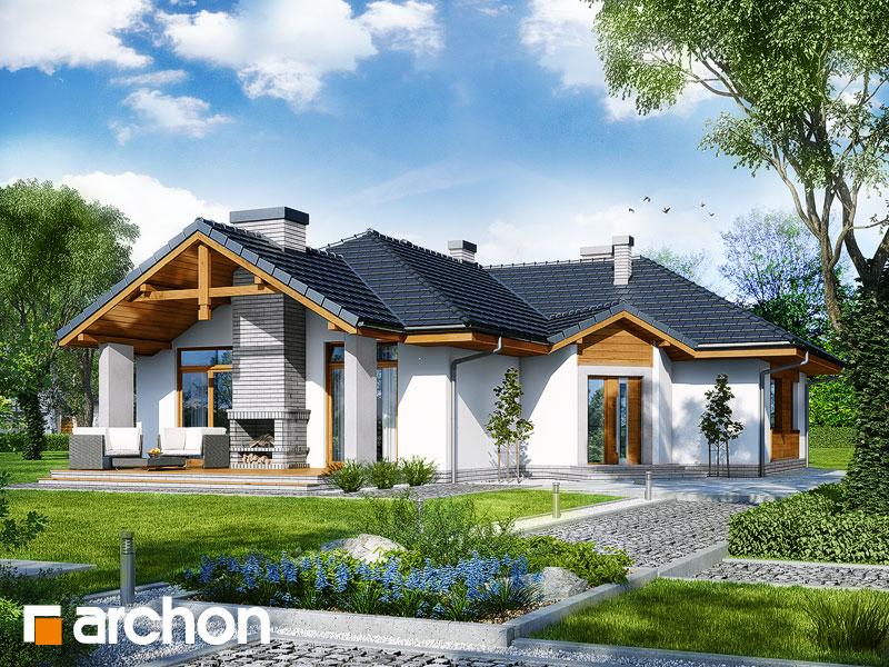Проект будинку ARCHON+ Будинок в салсефіях Вид 1