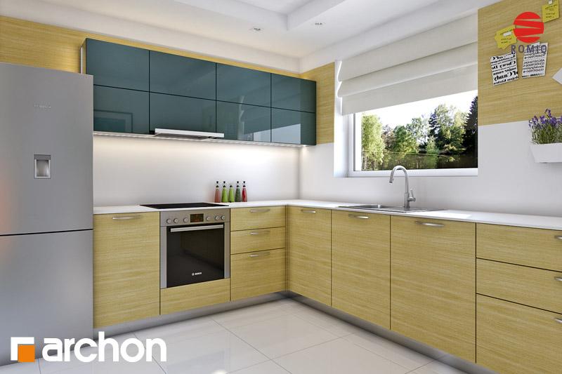Проект будинку ARCHON+ Будинок Мініатюрка (Н) аранжування кухні 1 від 1
