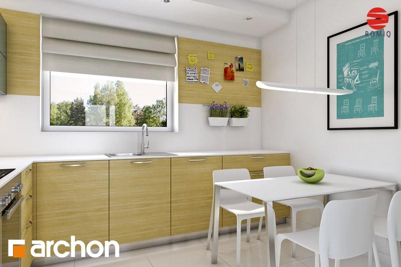 Проект будинку ARCHON+ Будинок Мініатюрка (Н) аранжування кухні 1 від 2