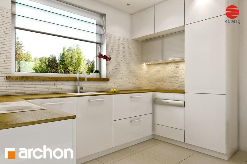 Проект будинку ARCHON+ Будинок Мініатюрка (Н) аранжування кухні 2 від 2