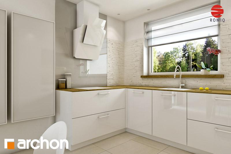 Проект будинку ARCHON+ Будинок Мініатюрка (Н) аранжування кухні 2 від 3