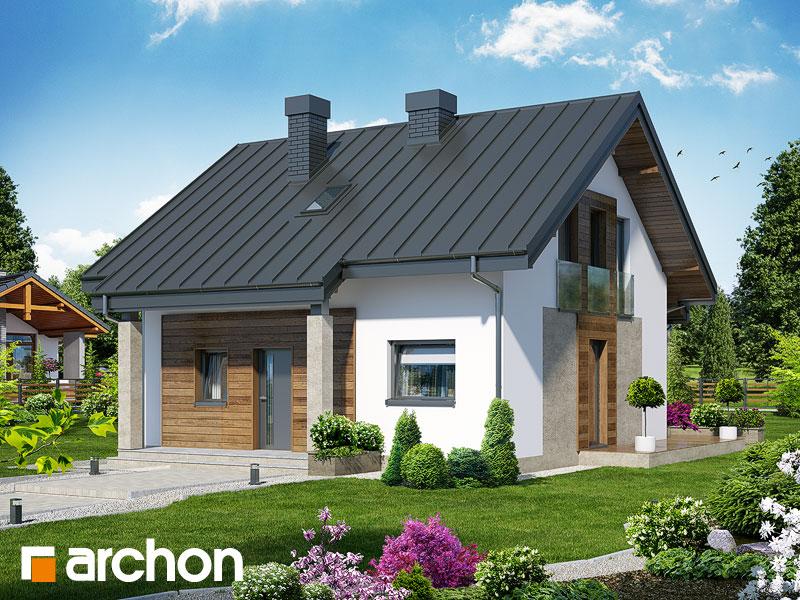 Проект будинку ARCHON+ Будинок Мініатюрка (Н) Вид 1
