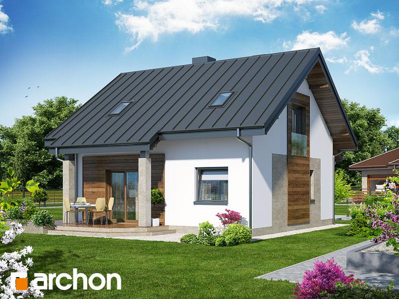 Проект будинку ARCHON+ Будинок Мініатюрка (Н) Вид 2