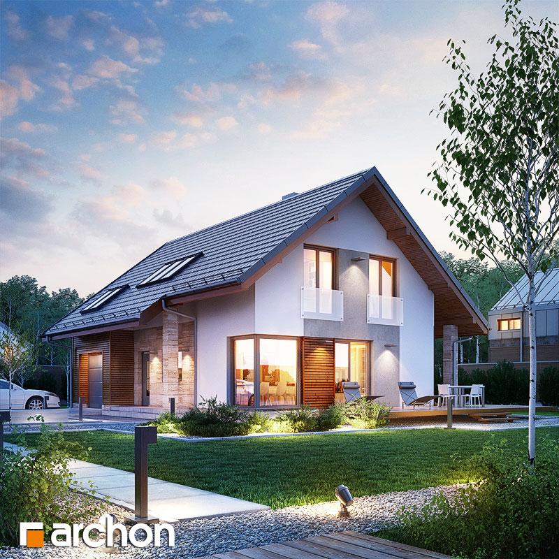Проект дома ARCHON+ Дом в вистерии додаткова візуалізація