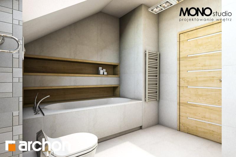 Проект дома ARCHON+ Дом в вистерии визуализация ванной (визуализация 1 вид 4)