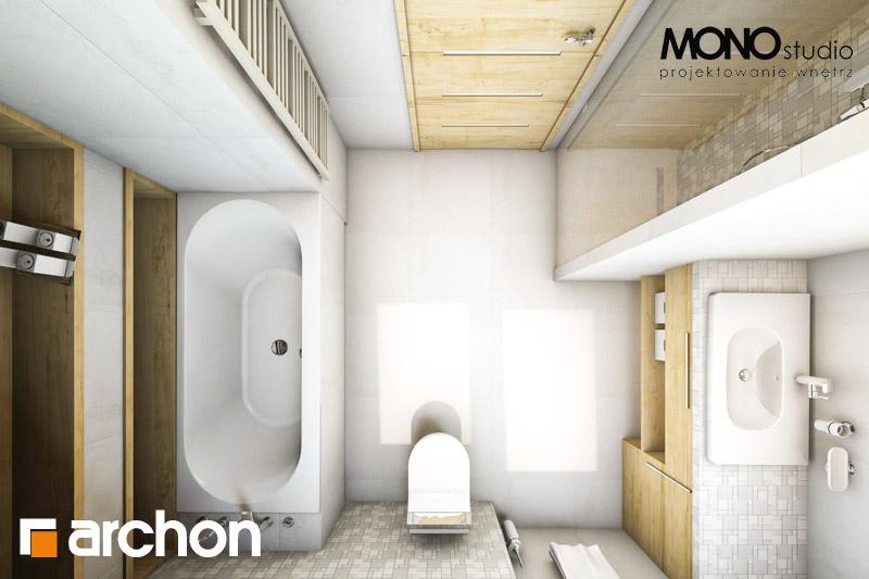 Проект дома ARCHON+ Дом в вистерии визуализация ванной (визуализация 1 вид 5)