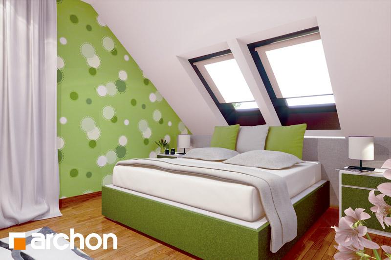 Проект дома ARCHON+ Дом в вистерии ночная зона (визуализация 1 вид 2)