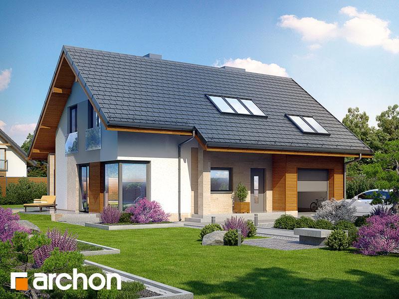 Проект дома ARCHON+ Дом в вистерии Вид 1