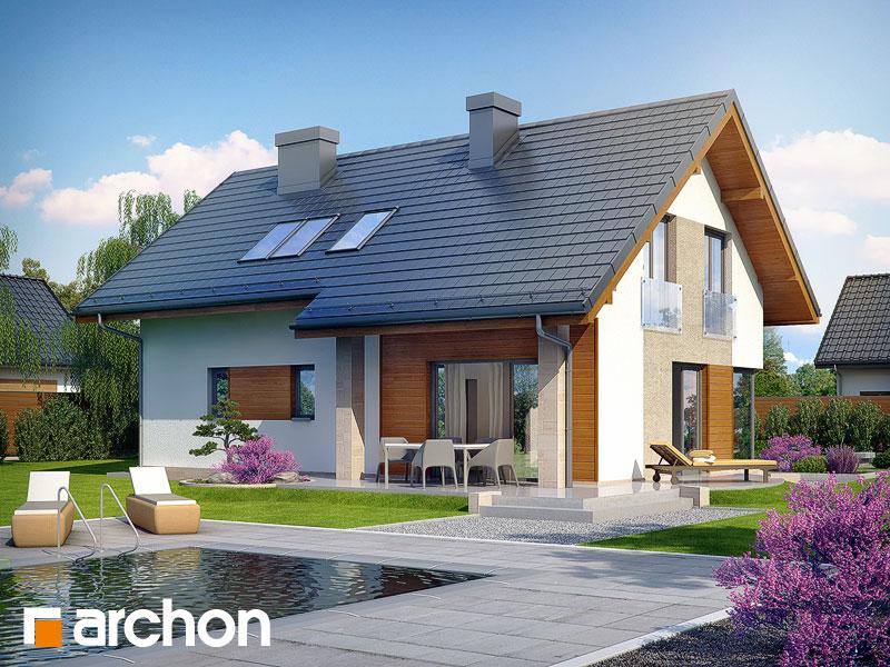Проект дома ARCHON+ Дом в вистерии Вид 2