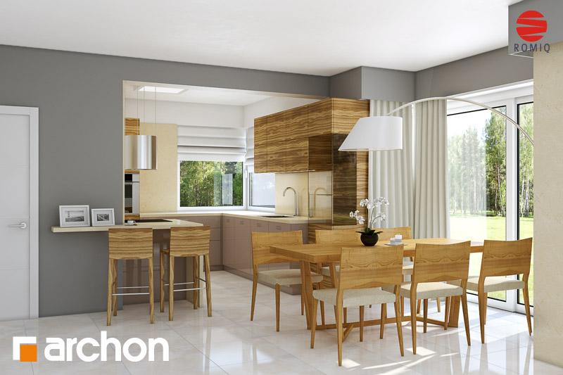 Проект будинку ARCHON+ Будинок в руколі (Г2H) аранжування кухні 1 від 1