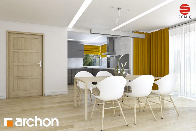 Проект будинку ARCHON+ Будинок в руколі (Г2H) аранжування кухні 2 від 1