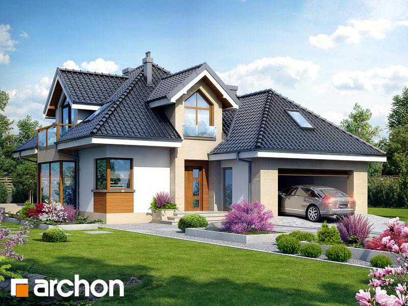 Проект будинку ARCHON+ Будинок в руколі (Г2H) Вид 1