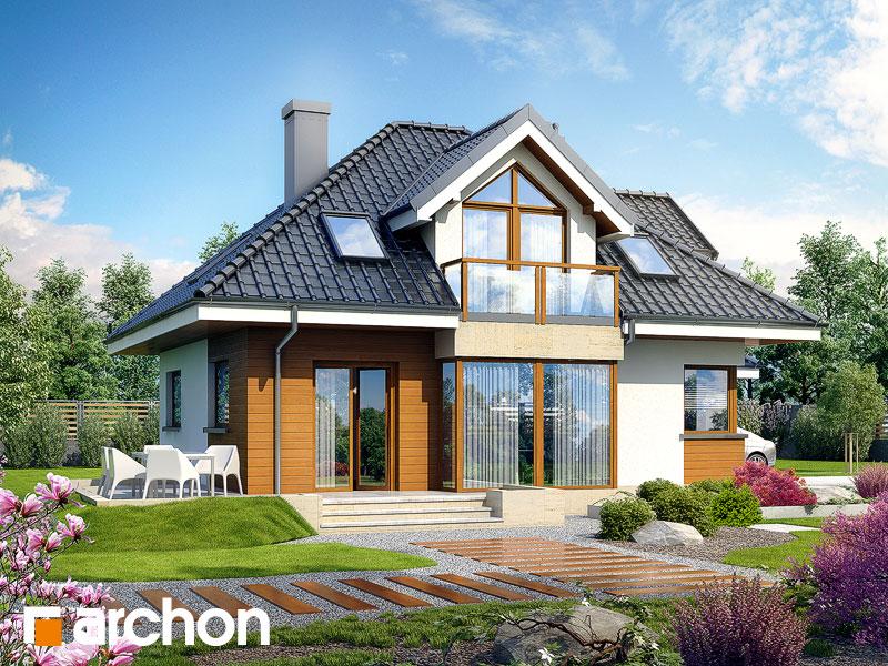 Проект будинку ARCHON+ Будинок в руколі (Г2H) Вид 2