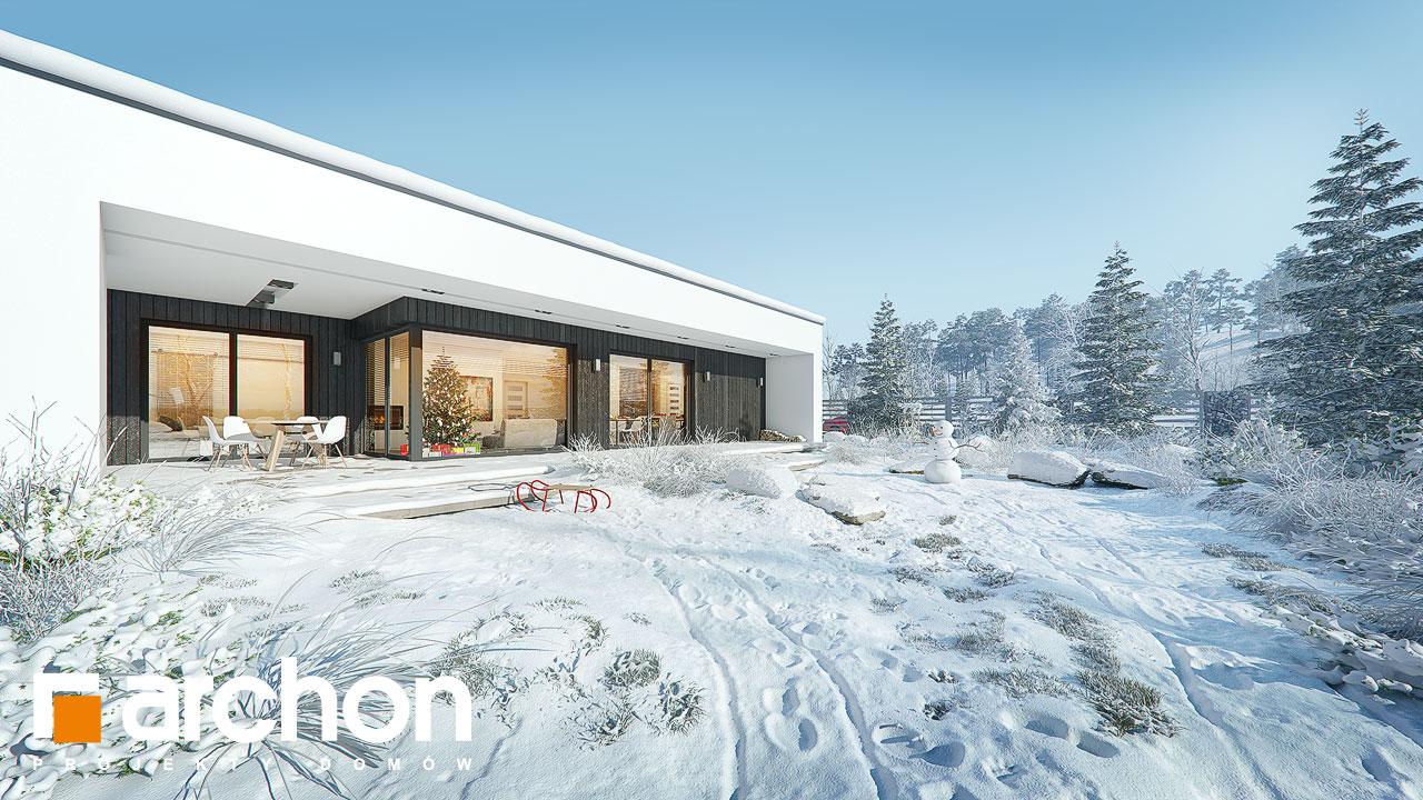 Проект будинку ARCHON+ Будинок в матуканах (Г2) додаткова візуалізація
