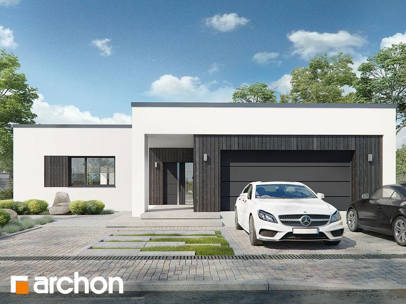 Проект будинку ARCHON+ Будинок в матуканах (Г2) Вид 1