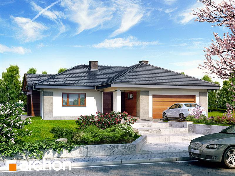 Проект дома ARCHON+ Дом в бадане 2 Вид 1