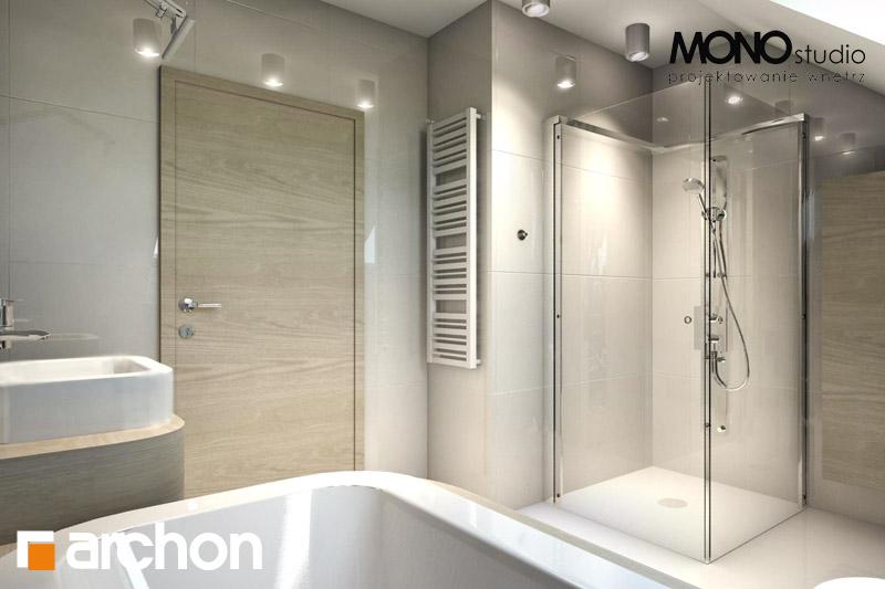 Проект будинку ARCHON+ Будинок в тим'яні 6 візуалізація ванни (візуалізація 3 від 3)