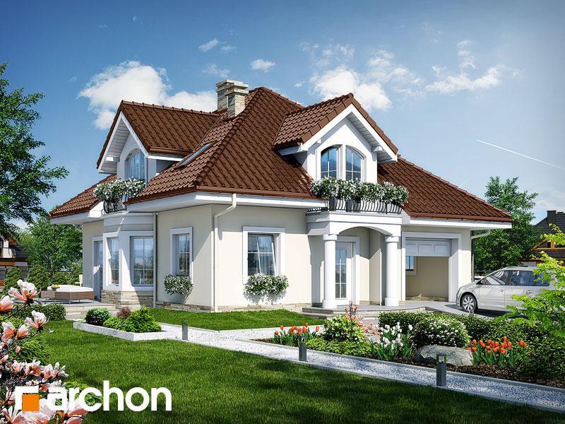 Проект будинку ARCHON+ Будинок в тим'яні 6 Вид 1