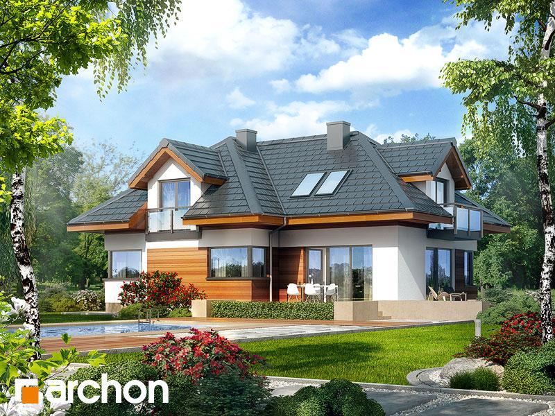 Проект будинку ARCHON+ Будинок в камеліях (Г2H) Вид 2
