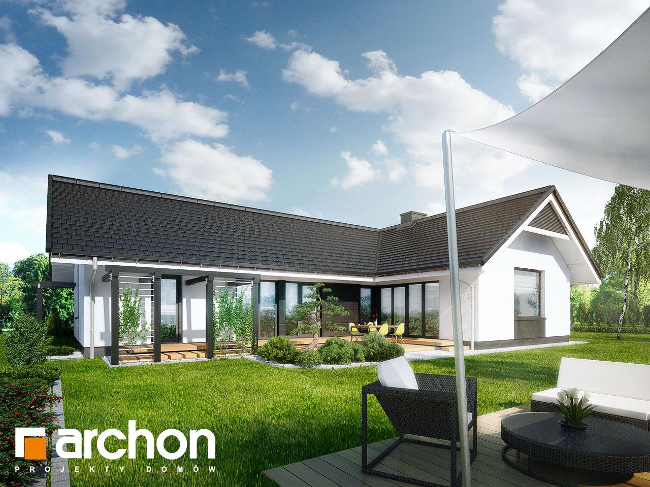 Проект будинку ARCHON+ Будинок в бонсай Вид 2