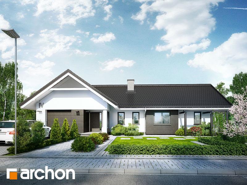 Проект будинку ARCHON+ Будинок в бонсай Вид 1