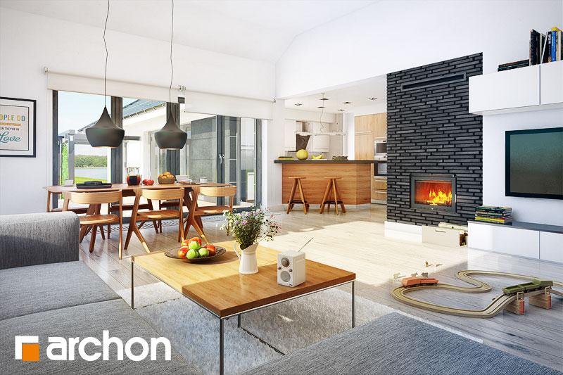 Проект будинку ARCHON+ Будинок в бонсай денна зона (візуалізація 1 від 1)