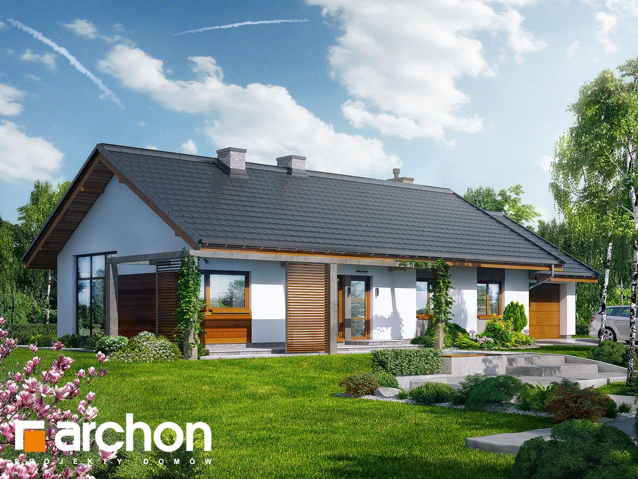 Проект будинку ARCHON+ Будинок в мекінтоші