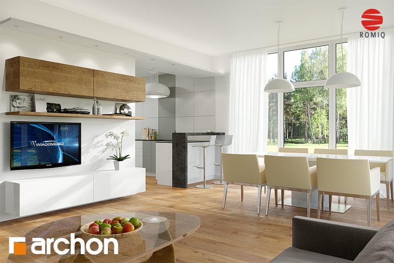 Проект будинку ARCHON+ Будинок в мекінтоші аранжування кухні 1 від 1