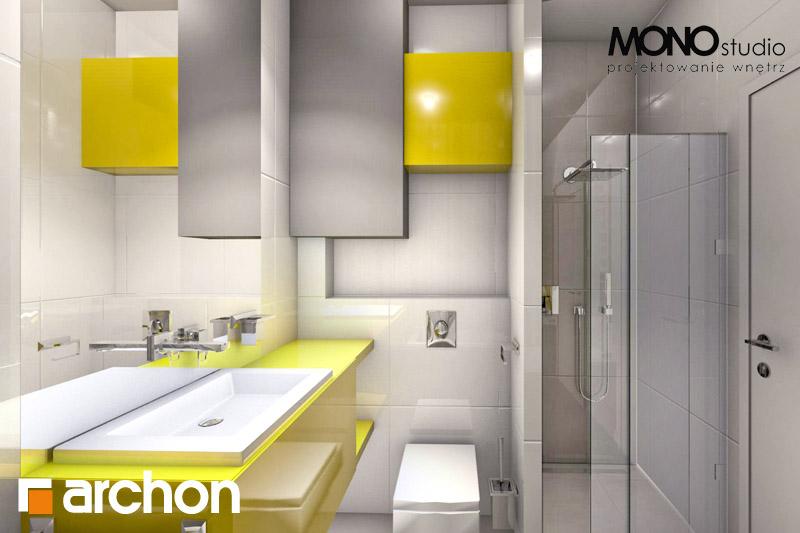 Проект будинку ARCHON+ Будинок в мекінтоші візуалізація ванни (візуалізація 1 від 2)