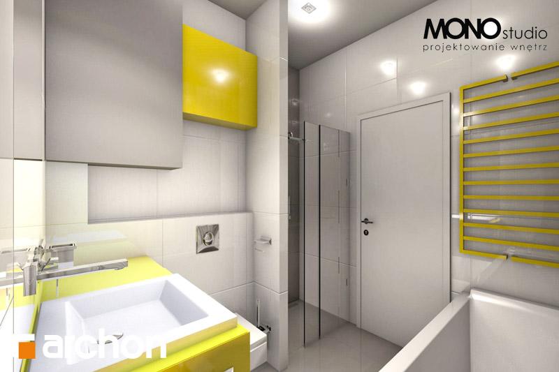 Проект будинку ARCHON+ Будинок в мекінтоші візуалізація ванни (візуалізація 1 від 3)