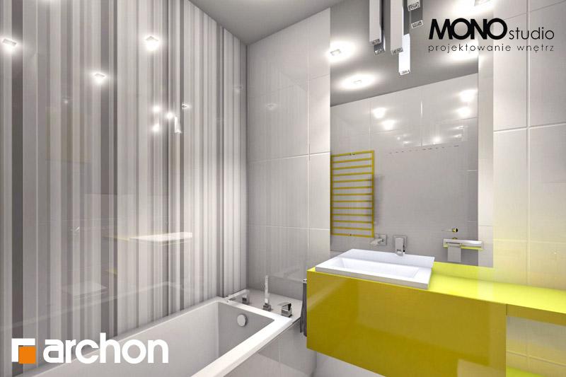 Проект будинку ARCHON+ Будинок в мекінтоші візуалізація ванни (візуалізація 1 від 4)