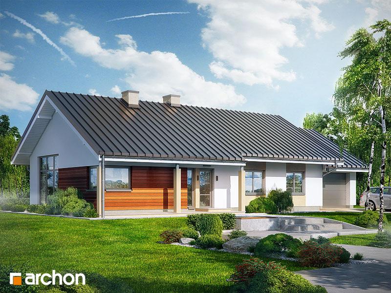 Проект будинку ARCHON+ Будинок в мекінтоші стилізація 5