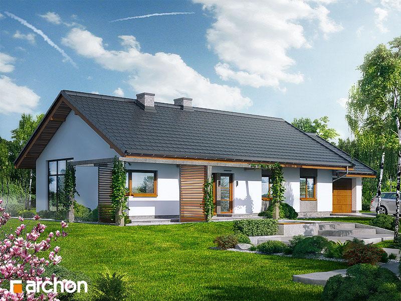 Проект будинку ARCHON+ Будинок в мекінтоші стилізація 6
