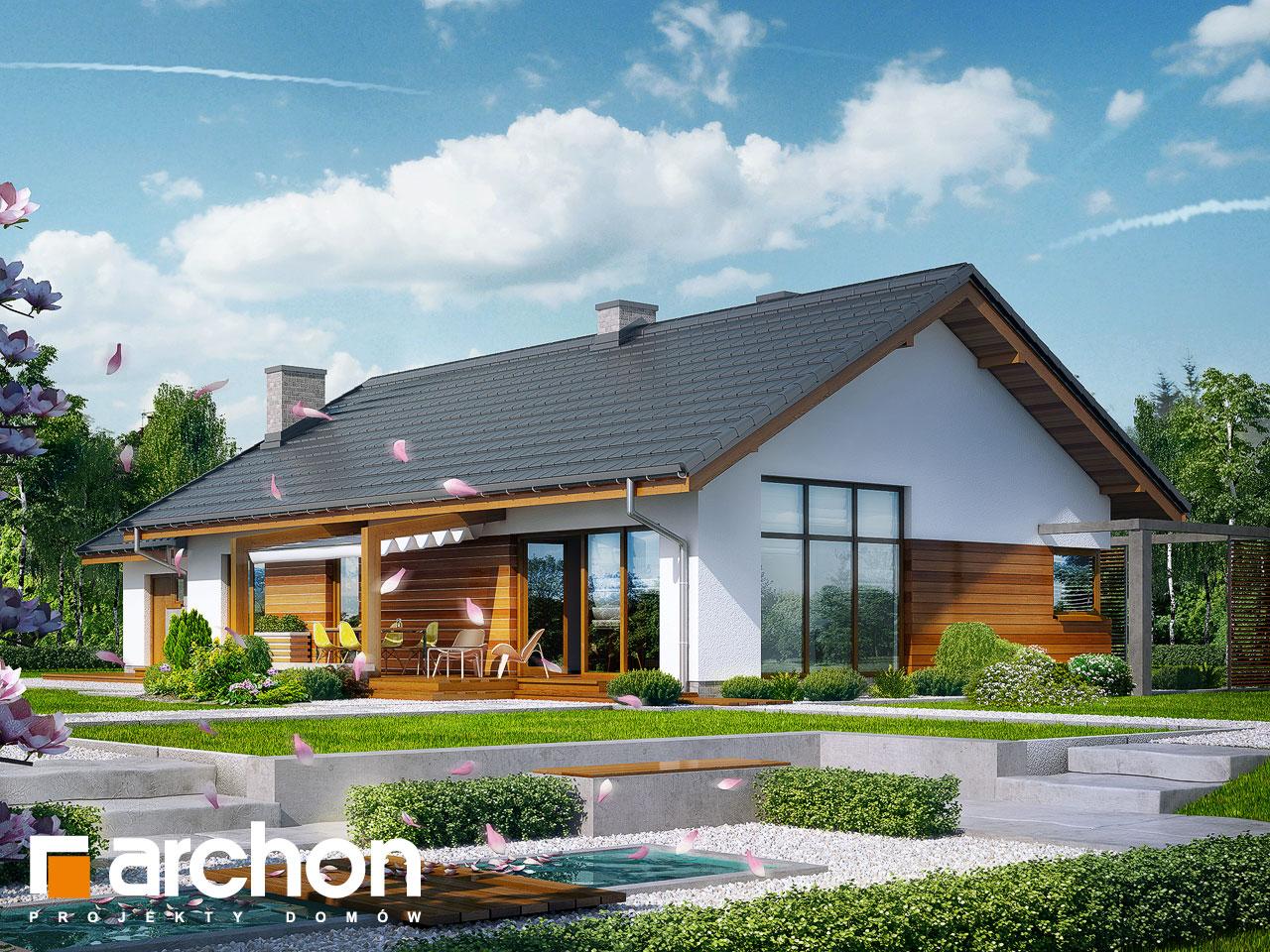 Проект будинку ARCHON+ Будинок в мекінтоші Вид 2
