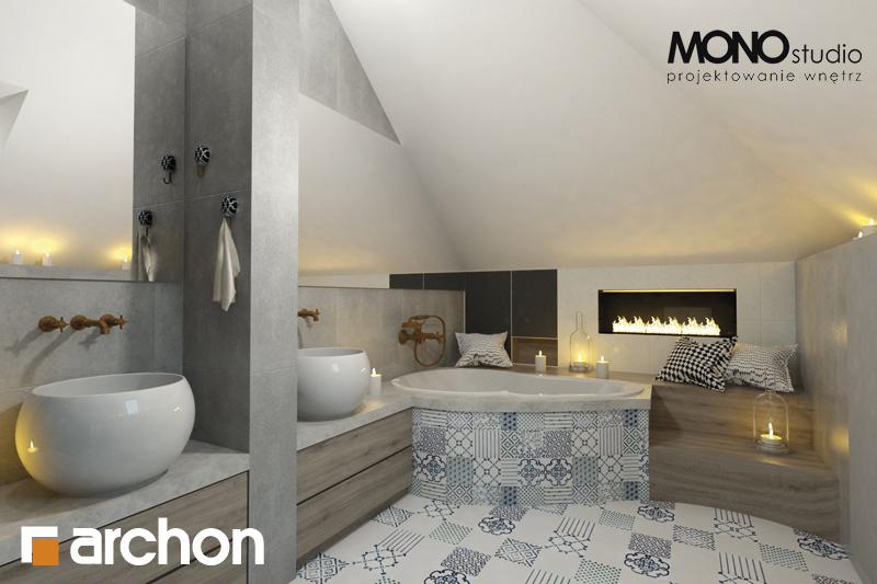 Проект будинку ARCHON+ Будинок в руколі 2 візуалізація ванни (візуалізація 1 від 1)