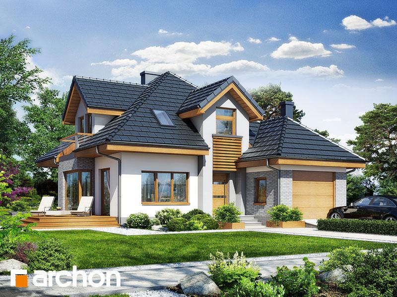 Проект будинку ARCHON+ Будинок в руколі 2 стилізація 3
