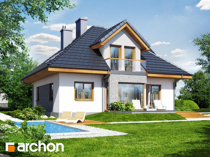 Проект будинку ARCHON+ Будинок в руколі 2 стилізація 4