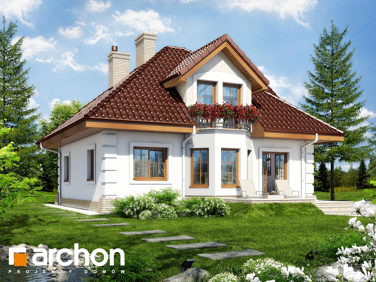 Проект будинку ARCHON+ Будинок в руколі 2 Вид 2