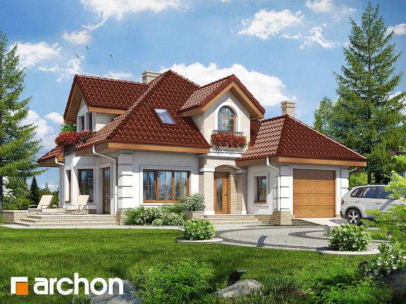 Проект будинку ARCHON+ Будинок в руколі 2 Вид 1