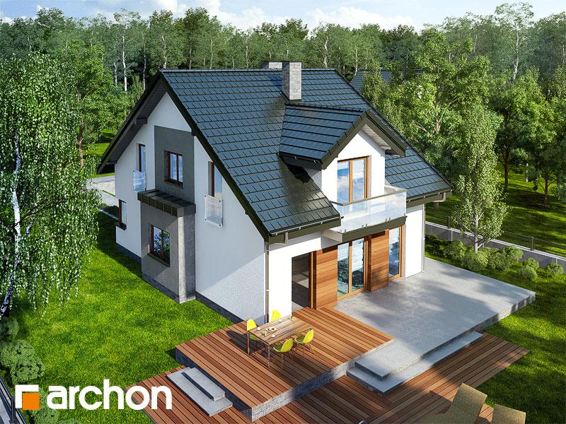 Проект будинку ARCHON+ Будинок в чилі  додаткова візуалізація