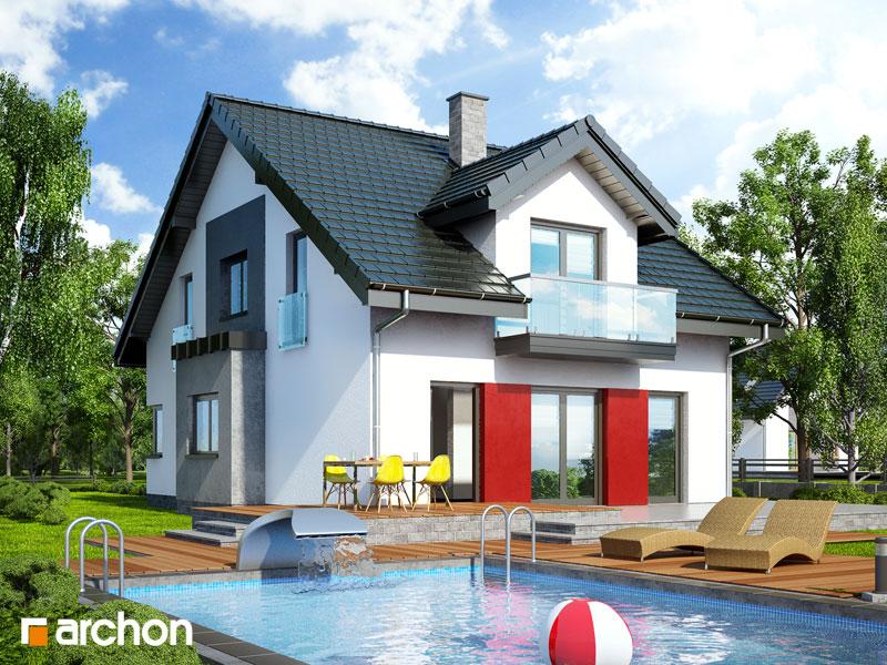 Проект будинку ARCHON+ Будинок в чилі  стилізація 4