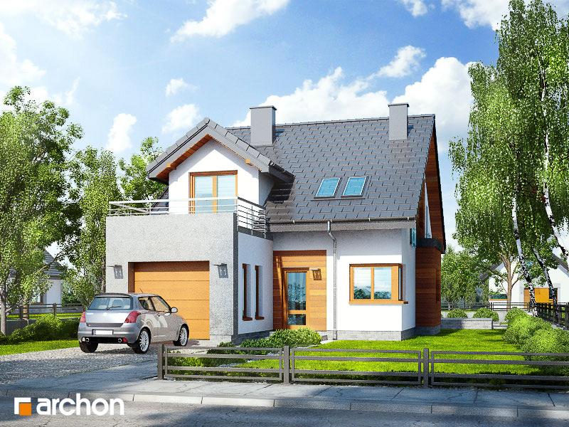 Проект дома ARCHON+ Дом в чили стилизация 5