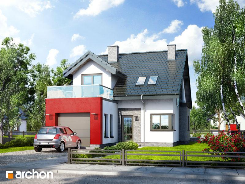 Проект дома ARCHON+ Дом в чили стилизация 3