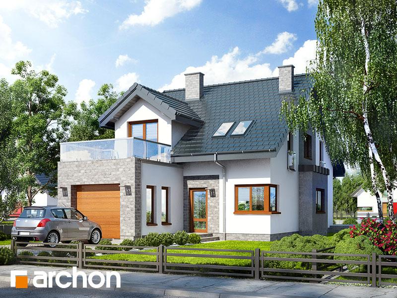 Проект дома ARCHON+ Дом в чили Вид 1