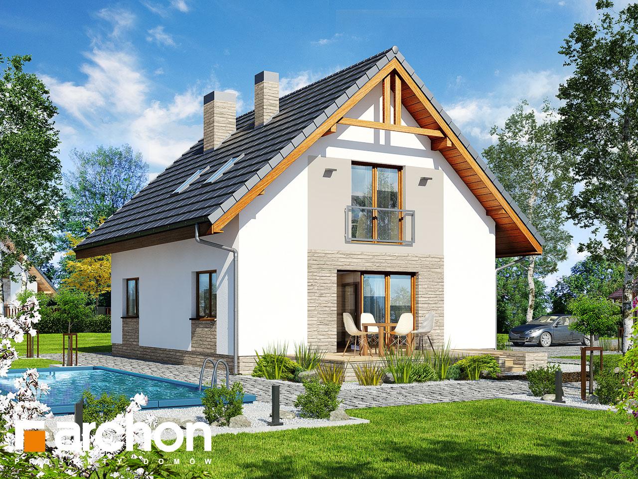 Проект будинку ARCHON+ Будинок в люцерні 4 Вид 2